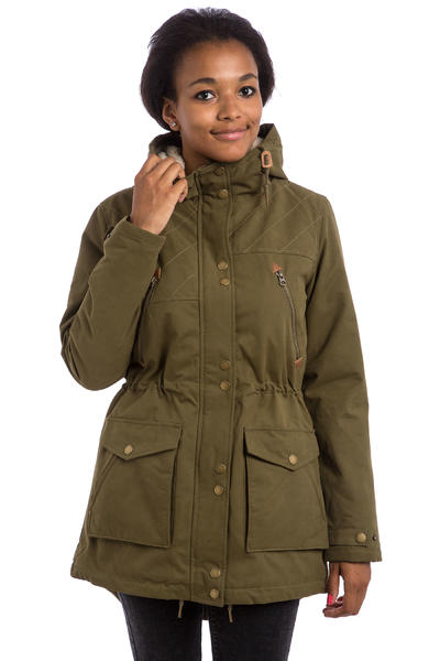 Volcom Walk On By Parka FA15 Jacke women (lentil green)