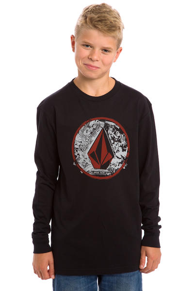 Volcom Punk Circle Longsleeve kids (black)