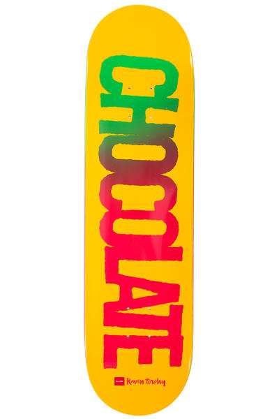 "Chocolate Tershy Cutout 8.25"" Deck (yellow)"