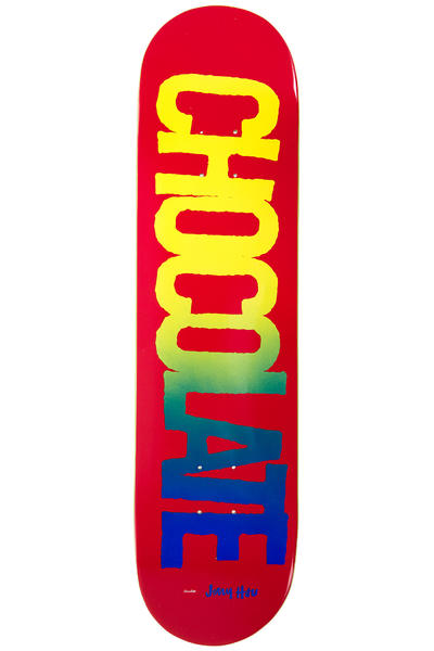 "Chocolate Hsu Cutout 8"" Deck (red)"
