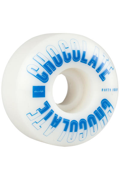 Chocolate Athletics 54mm Rollen (white blue) 4er Pack