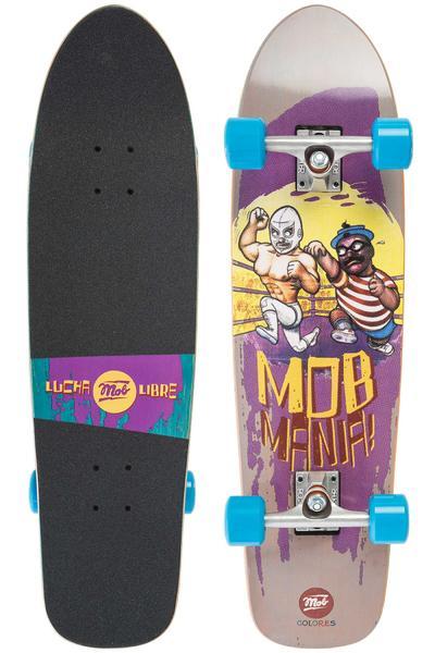 "MOB Skateboards Mania 8.5"" x 32"" Cruiser (blue)"