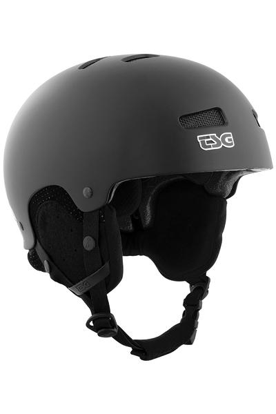 TSG Arctic Kraken Solid Color Casco de Snow (satin black)
