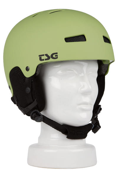 TSG Gravity Solid Color Snow-Helm (flat hunting green)