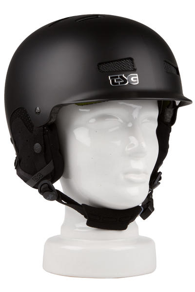 TSG Trophy Solid Color FA15 Snow-Helm (satin black)