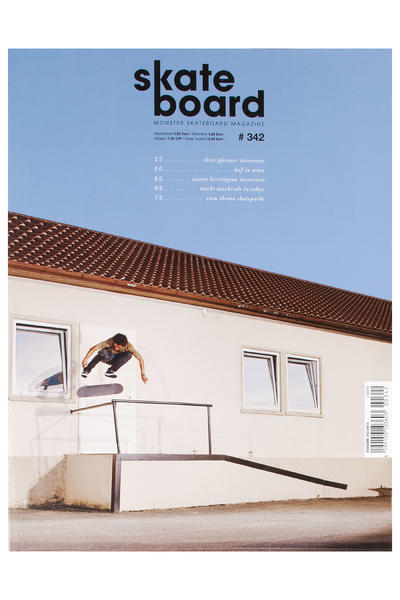 Skateboard MSM Monster Skateboard Revista # 342 2015