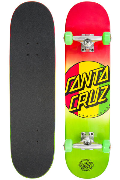 "Santa Cruz Rasta Dot Regular 7.75"" Complete-Board"