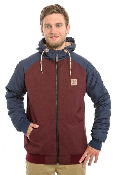 Iriedaily Another Flag Jacket (maroon melange)