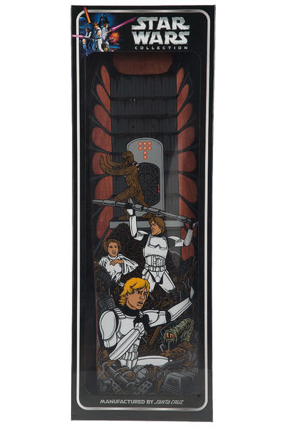 "Santa Cruz x Star Wars Trash Compactor Scene Collectible 9.3"" Deck"