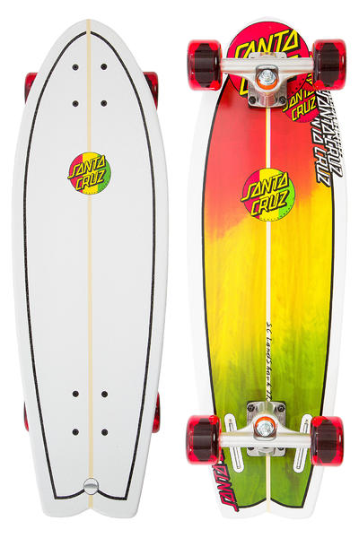 "Santa Cruz Land Shark 8.8"" x 27.7"" Cruiser (rasta)"