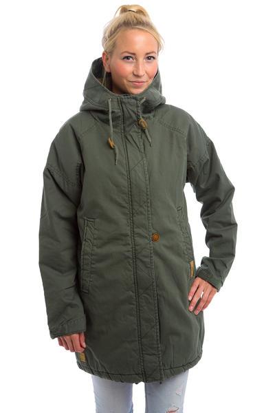 Iriedaily Bulky Parka Jacket women (olivegrey)