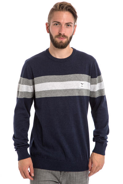 Iriedaily Flag Role Daily Sweatshirt (navy melange)