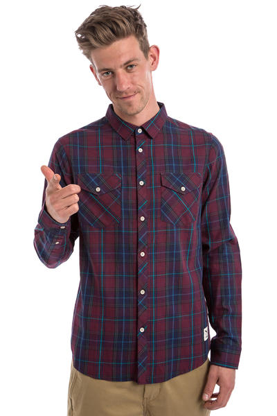 Iriedaily M.C. Valle Shirt (navy red)
