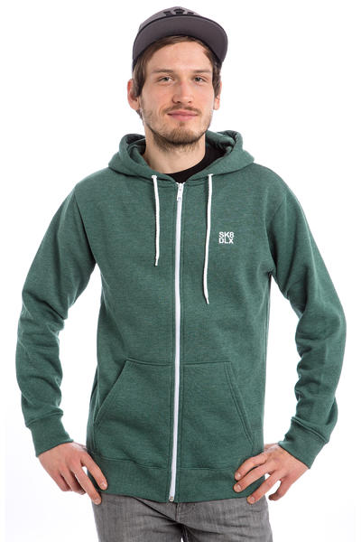 SK8DLX Classic Zip-Hoodie (heather forest)