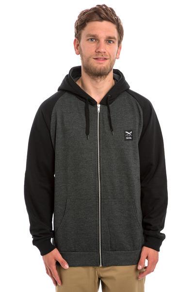 Iriedaily De College Zip-Hoodie (black)