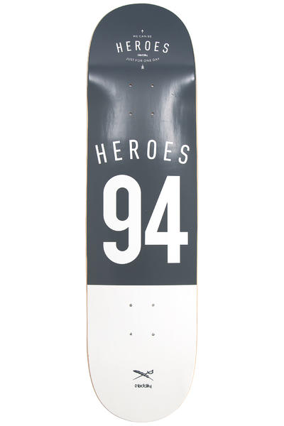 "Iriedaily Heroes 8.25"" Deck (black white)"