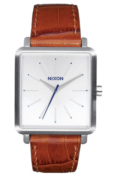 Nixon The K Squared Watch women (silver saddle gator)