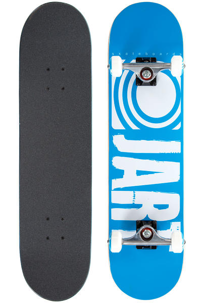 "Jart Skateboards Logo Basic SP15 7.875"" Komplettboard (blue)"