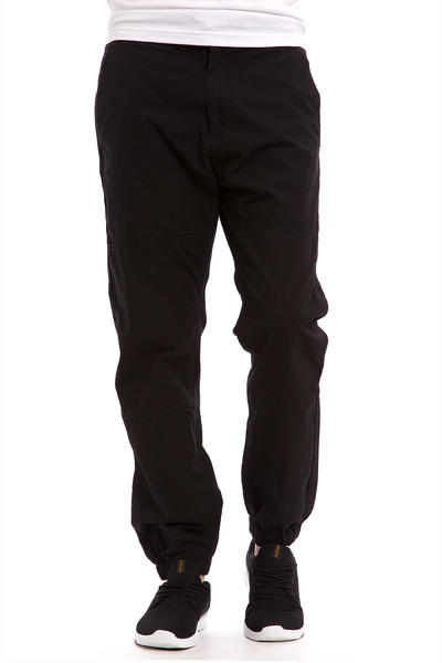 Carhartt WIP Marshall Jogger Columbia Pants (black rinsed)