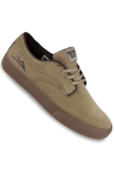Lakai Riley Hawk Suede Shoe (walnut)