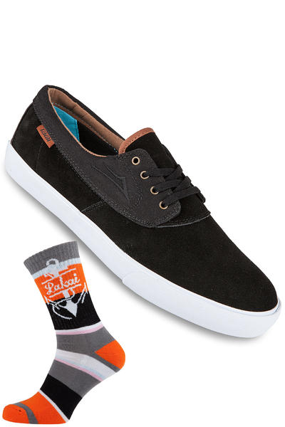 Lakai Camby Nesser Suede Shoe (black)