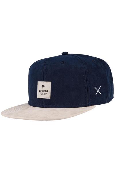 Wemoto Flag Snapback Cap (navyblue)