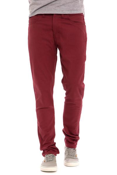Dickies Slim Skinny Pants (oxblood)