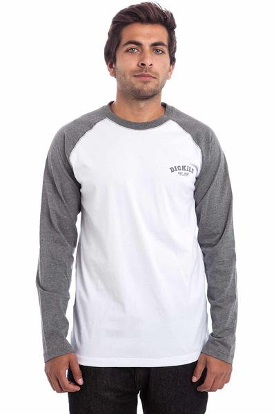 Dickies Baseball Camiseta de manga larga (dark grey melange)
