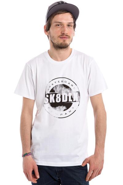 SK8DLX Aqua T-Shirt (white)