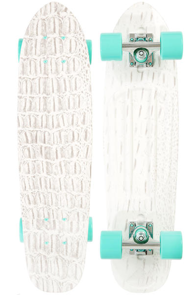 "Diamond Life 25.5"" Cruiser (white croc)"