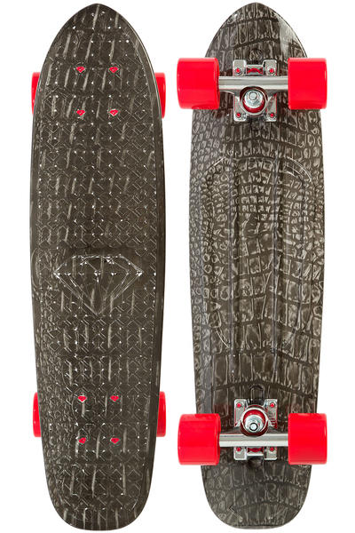 "Diamond Life 25.5"" Cruiser (black croc)"