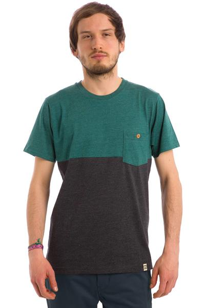 SK8DLX Mojave T-Shirt (green dark grey heather)