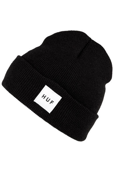 HUF Box Logo Beanie (black)