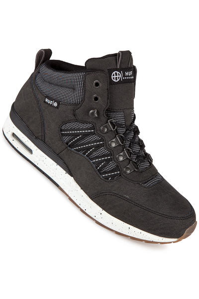 HUF HR-1 Nubuck Shoe (black reflective gum)