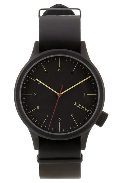 Komono Magnus Watch (black black)