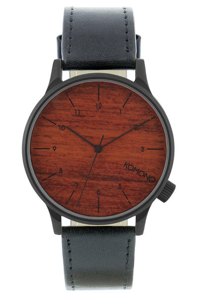 Komono Winston Watch (black wood)