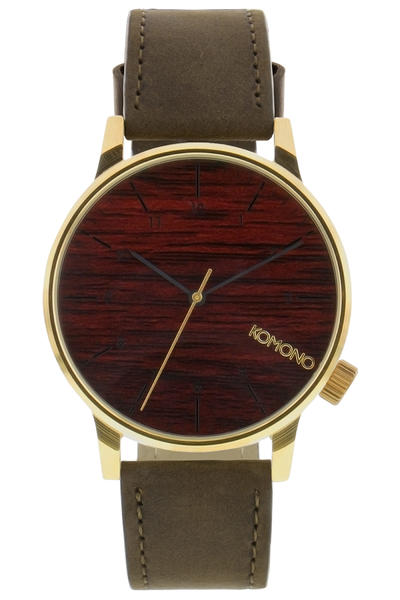 Komono Winston Watch (gold wood)