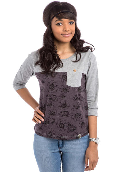 SK8DLX Quinn Longsleeve women (brown grey heather)