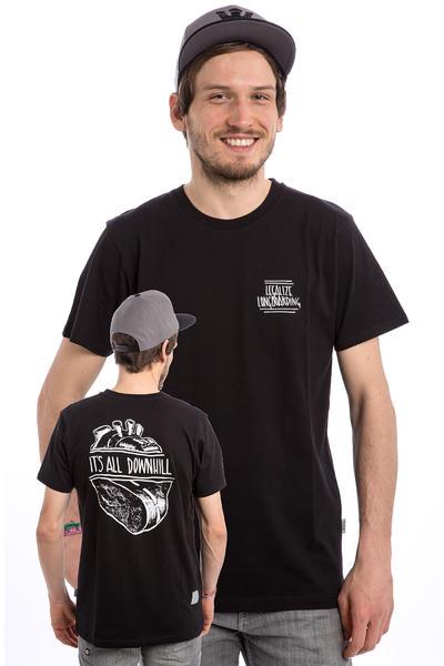 Legalize Longboarding Downhill Camiseta (black)