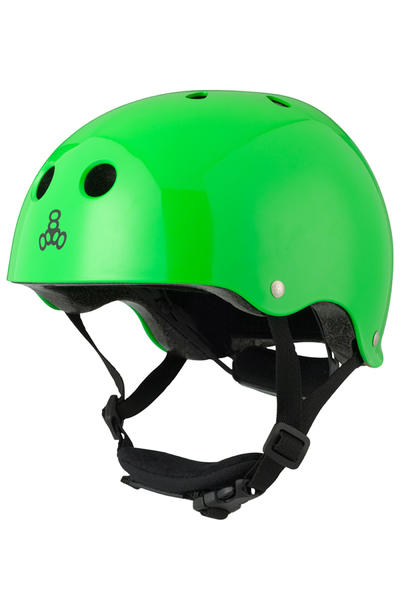 Triple Eight LIL 8 Helm kids (neon green glossy)