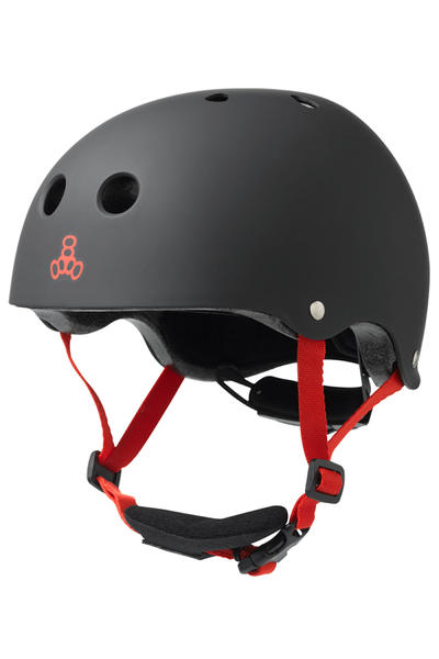 Triple Eight LIL 8 Helm kids (black rubber)