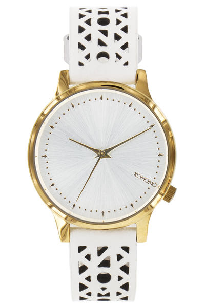 Komono Estelle Cutout Uhr women (white gold)