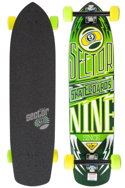"Sector 9 Carbon Flight 36"" (91,44cm) Complete-Longboard (yellow)"