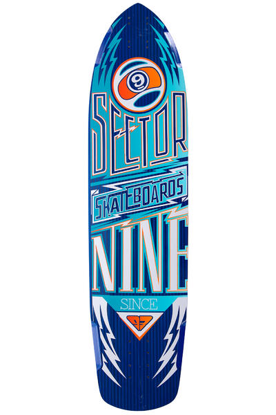 "Sector 9 Carbon Flight 36"" (91,44cm) Longboard Deck 2015 (blue)"