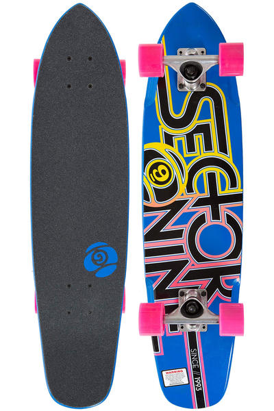 "Sector 9 The Wedge 31.3"" (79,5cm) Cruiser 2014 (blue)"