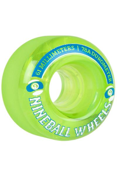 Sector 9 Nineballs 61mm 78A CS Rollen (lime) 4er Pack