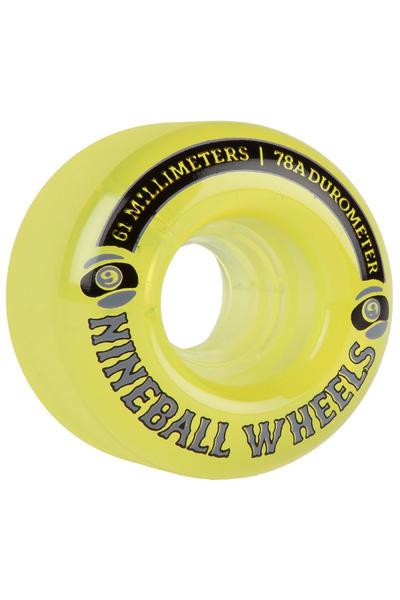 Sector 9 Nineballs 61mm 78A CS Wheel (yellow) 4 Pack