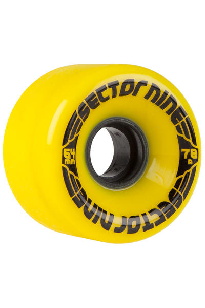 Sector 9 Nineballs 64mm 78A CS Wheel (yellow) 4 Pack