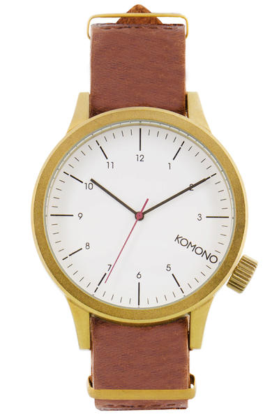 Komono Magnus Uhr (saddle brown)