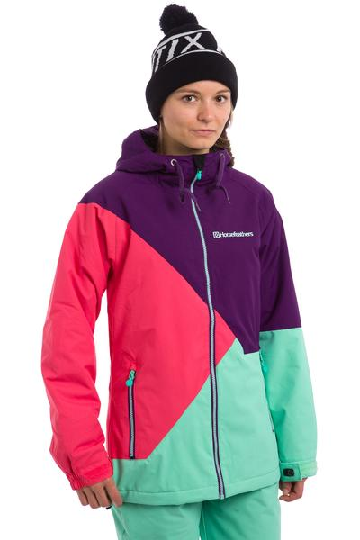 Horsefeathers Veronika Snowboard Jacke women (grape)